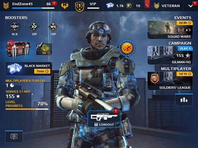 modern combat 5 free credits