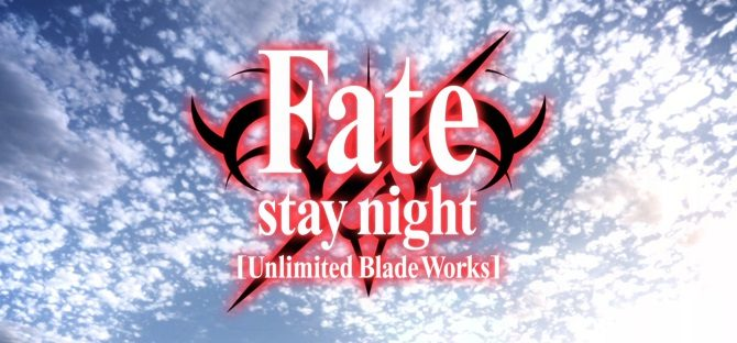 Fate Stay Night Unlimited Blade Works anime