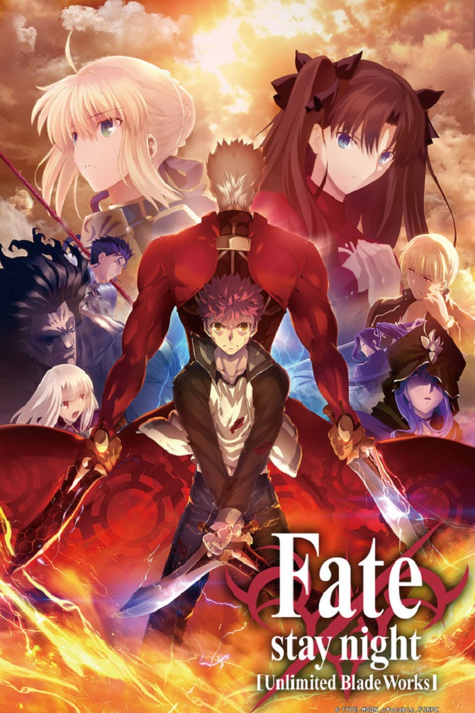 fate stay night unlimited blade works anime review