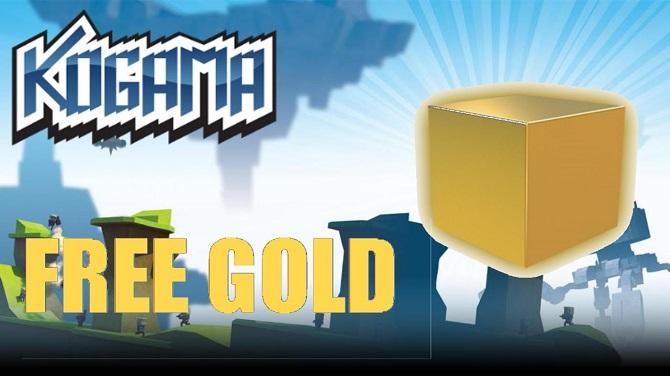 kogama free gold