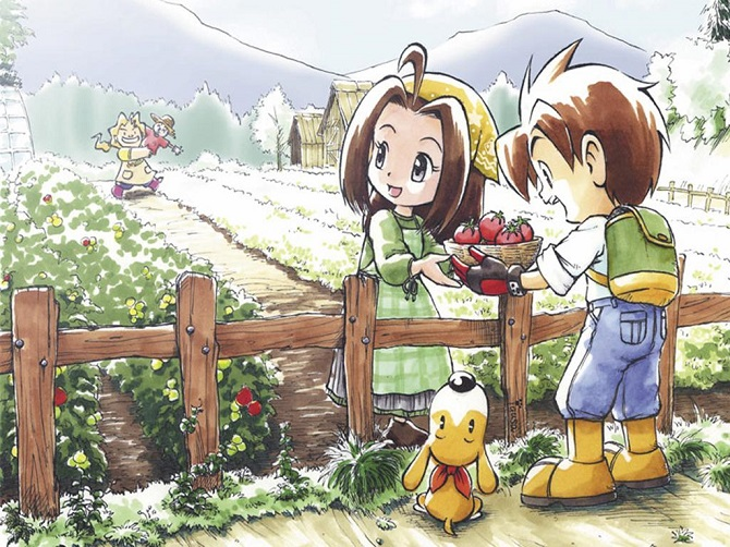 best harvest moon series
