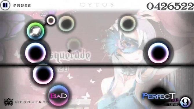 cytus gameplay