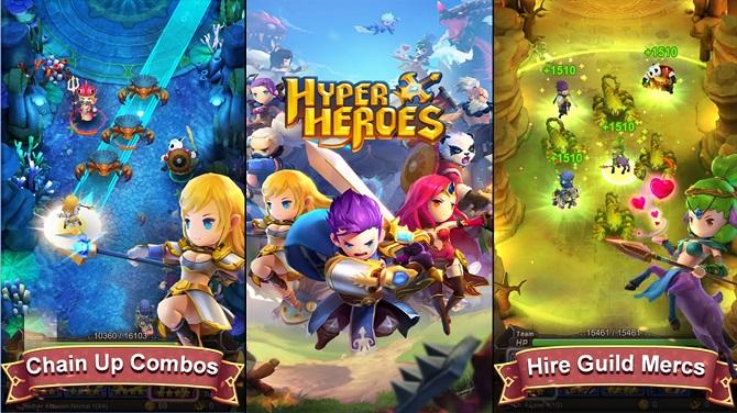 hyper heroes gameplay