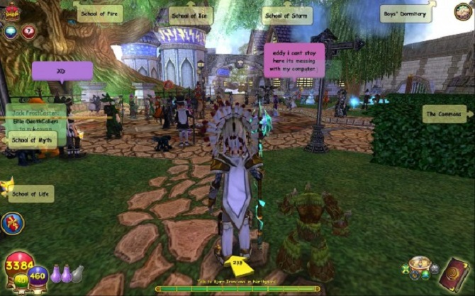 wizard 101 gameplay
