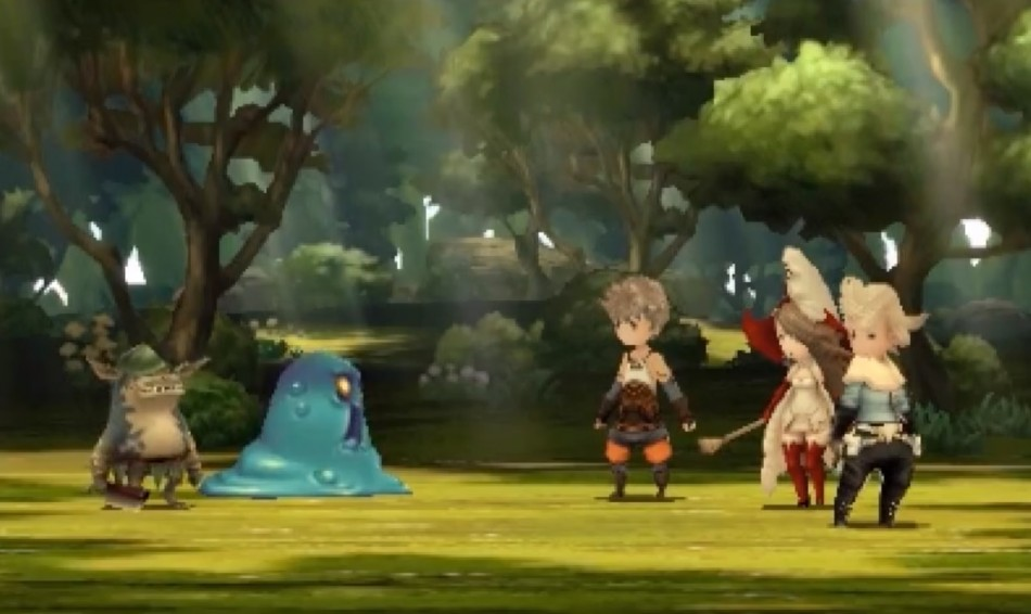 bravely default gameplay