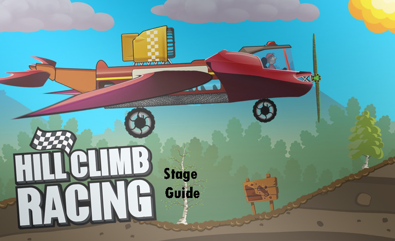 hill climb racing stage guide
