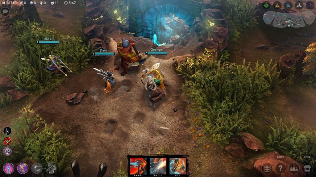 vainglory gameplay