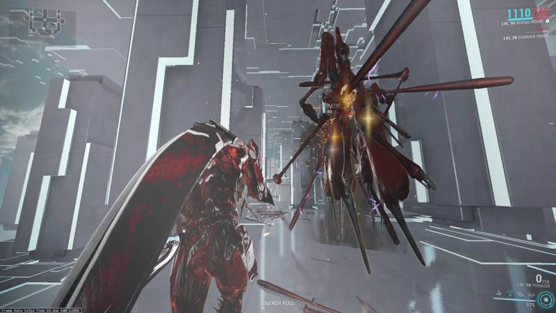 warframe boss gameplay