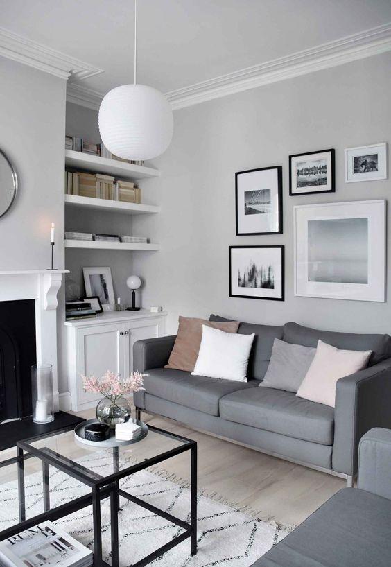 Monochrome Home Furnishings