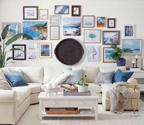 Nautical Living Room Interior