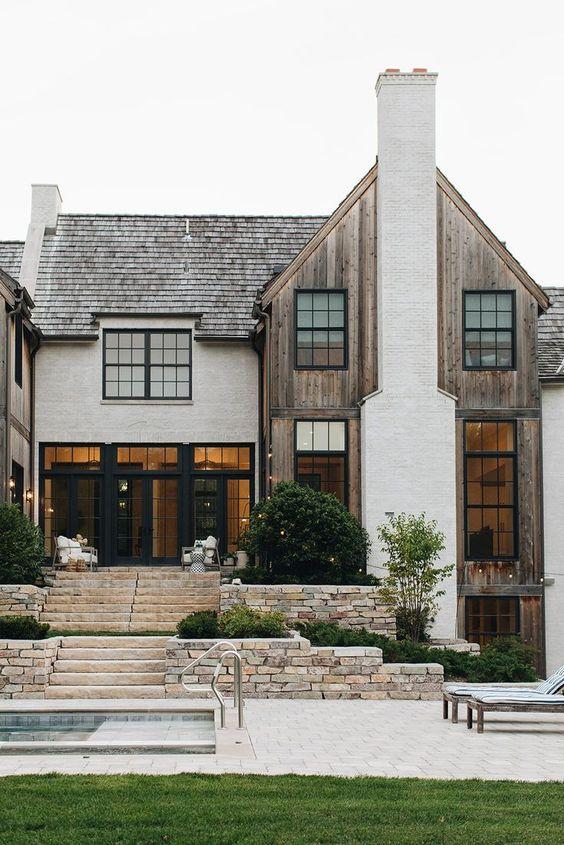 Boho house exterior